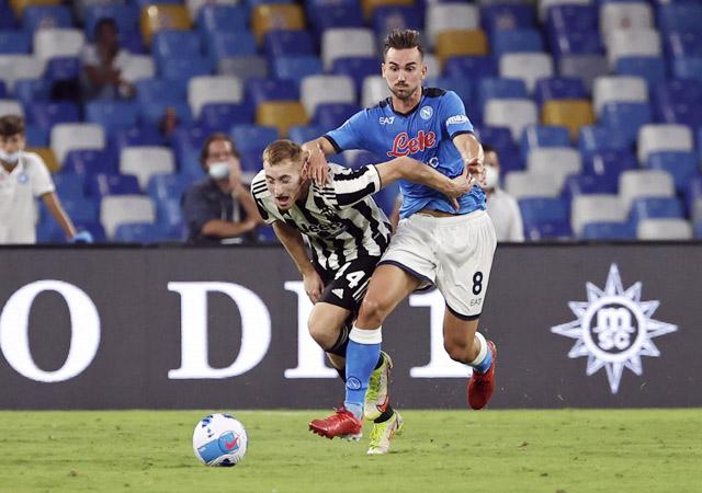 Napoli vừa hạ cả Juventus 2-1 ở Serie A.