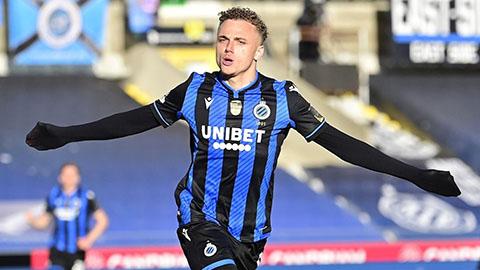 Noa Lang đã thể hiện phong độ ấn tượng trong màu áo Club Brugge
