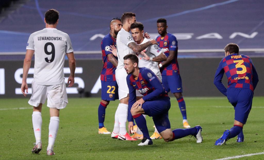 Trong lần đối đầu gần nhất, Bayern đã đè bẹp Barca 8-2