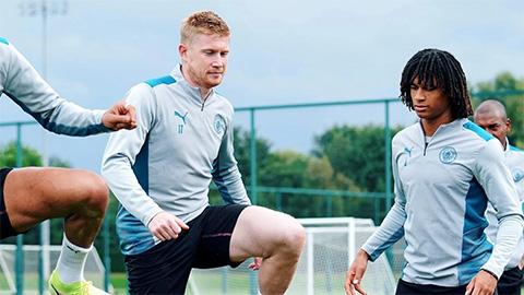 Đội hình dự kiến Man City vs Leipzig: De Bruyne tái xuất, Sterling đá chính?
