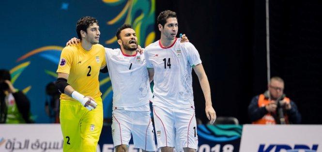 Iran đánh bại Serbia 3-2 trong trận khai màn FIFA futsal World Cup 2021
