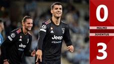 Malmo vs Juventus: 0-3 (Vòng bảng Champions League 2021/22)