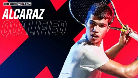 Carlos Alcaraz giành vé dự Next Gen ATP Finals 2021