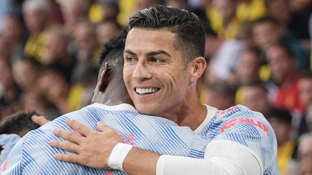 Dù Ronaldo ghi bàn nhưng MU vẫn thua trận.