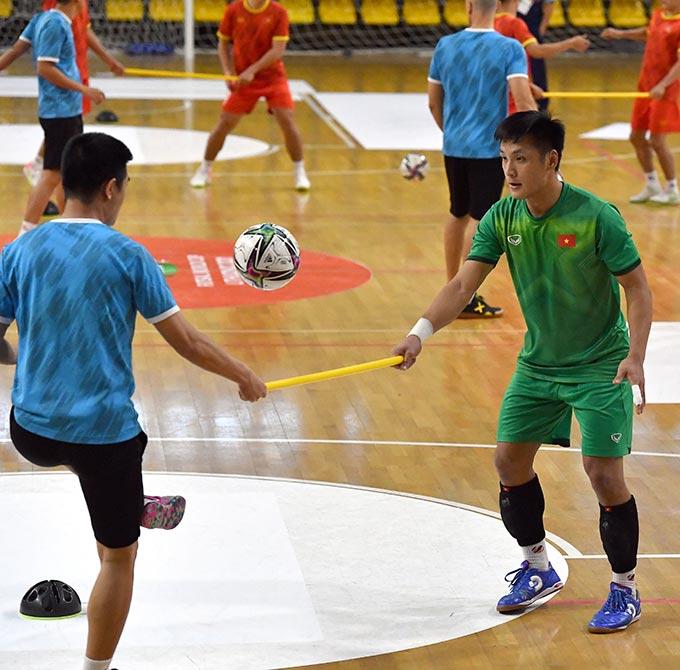 Các cầu thủ đã học hỏi được nhiều điều qua trận đấu với đối thủ đẳng cấp Brazil