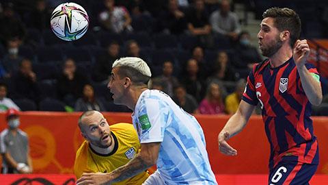 FIFA Futsal World Cup 2021: ĐKVĐ Argentina thắng dễ, Nhật toát mồ hôi hột