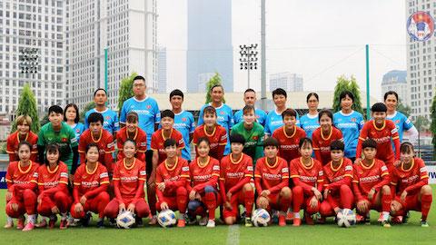 ĐT nữ Việt Nam loại đến 11 cầu thủ trước khi dự vòng loại nữ châu Á 2022