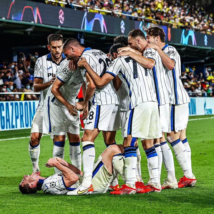 Atalanta thi đấu nổi bật hơn nhưng chỉ có 1 điểm rời Tây Ban Nha