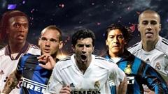 Figo, Seedorf, Sneijder và những ngôi sao từng chơi cho cả Real lẫn Inter