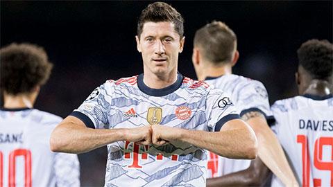 Điểm nhấn Barcelona 0-3 Bayern: Không thể cản Lewandowski