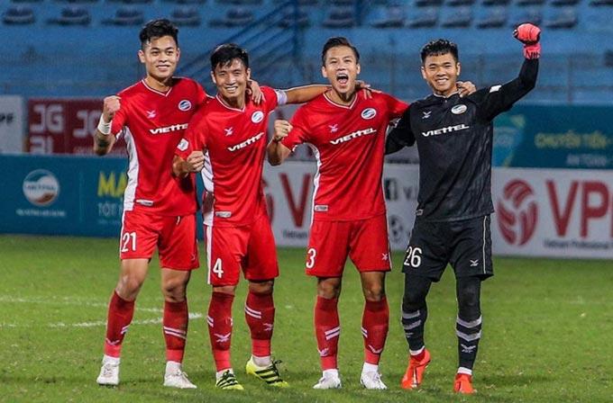 Lần đầu tiên Viettel chiếm ngang ngửa về quân số so với Hà Nội FC, HAGL ở ĐT Việt Nam