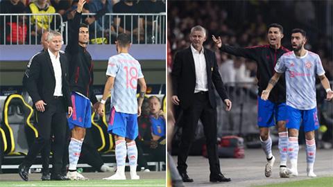 Ferdinand chỉ trích Solskjaer vì để Ronaldo chỉ đạo ngoài đường biên