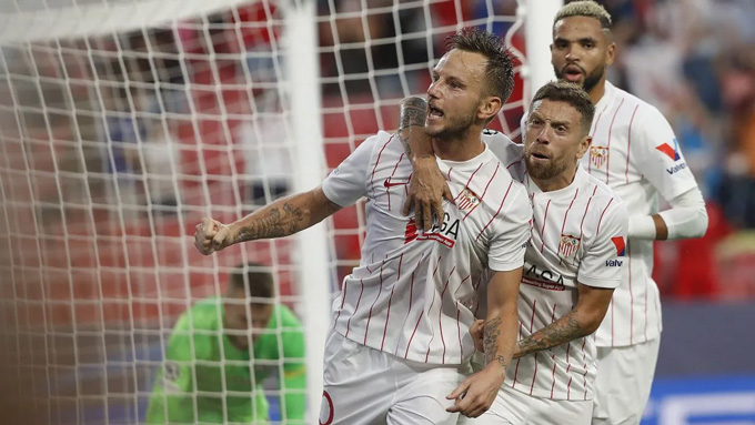Rakitic giữ lại 1 điểm cho Sevilla