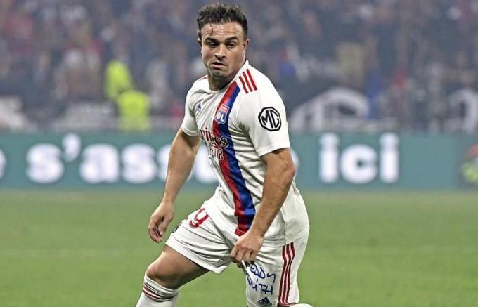 Shaqiri sẵn sàng ra sân cho Lyon trước Rangers