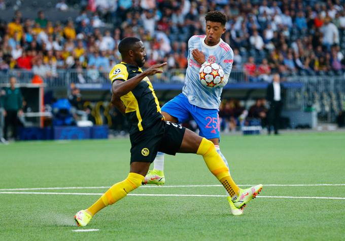 Sancho tiếp tục có một trận đấu nhạt nhòa