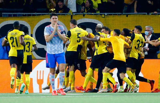 Tinh chần chiến đấu của các cầu thủ Young Boys xứng đáng được ngợi khen