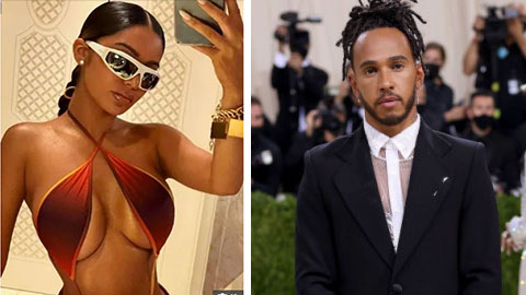 Lewis Hamilton hẹn hò với người mẫu ngực bự Janet Guzman?