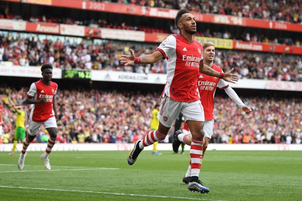 Aubameyang và đồng đội tại Arsenal sẽ ca khúc khải hoàn