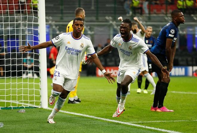 Rodrygo, người hùng vừa giúp Real có trận thắng quan trọng trước Inter