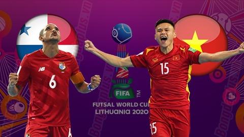 Trực  tiếp futsal Panama vs Việt Nam, 22h00 tối nay