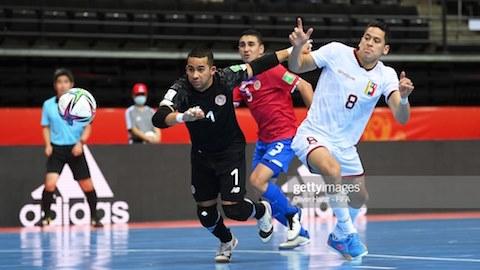 FIFA Futsal World Cup 2021: Venezuela là đội đầu tiên của bảng A giành vé vào vòng 1/8