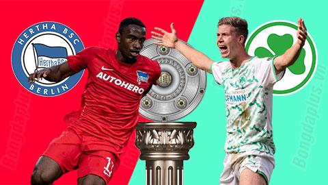 Nhận định bóng đá Hertha Berlin vs Greuther Fuerth, 01h30 ngày 18/9