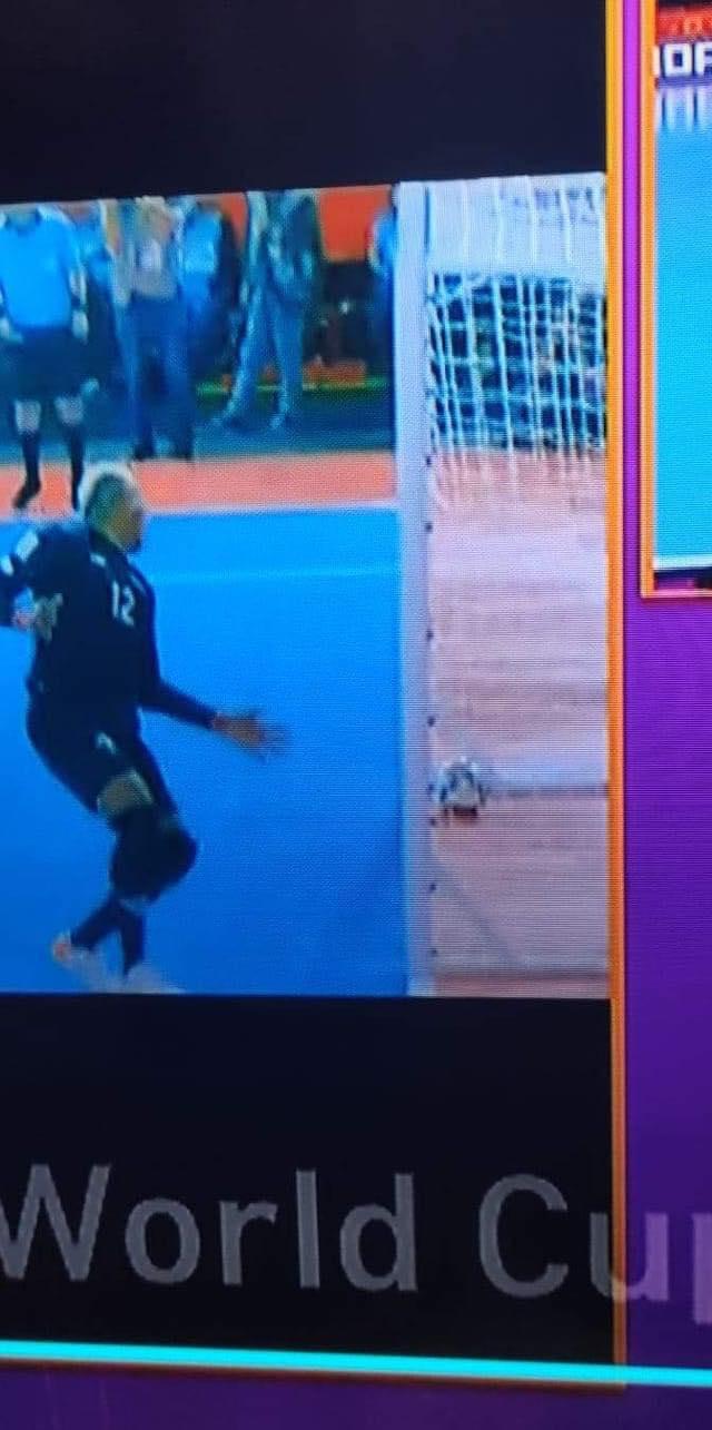 Bóng đã ở trong cầu môn