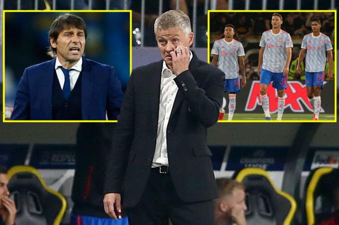Conte đang được coi là ứng viên nặng ký thay Solskjaer sau khi Man United thua bạc nhược Young Boys