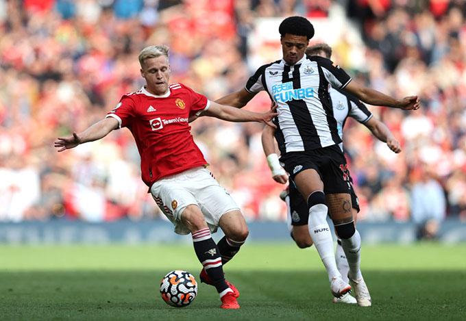 Van de Beek cần phải cố gắng hơn nữa để giành vị trí chính thức ở Man United
