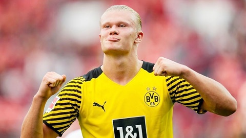 Vượt Lewandowski, Haaland là cầu thủ Bundesliga xuất sắc nhất tháng 8