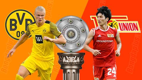 Nhận định bóng đá Dortmund vs Union Berlin, 22h30 ngày 19/09: Chỉ Haaland là đủ