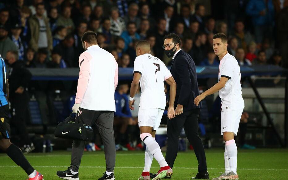 Mbappe chấn thương khiến HLV Pochettino rất khó bố trí hàng công PSG