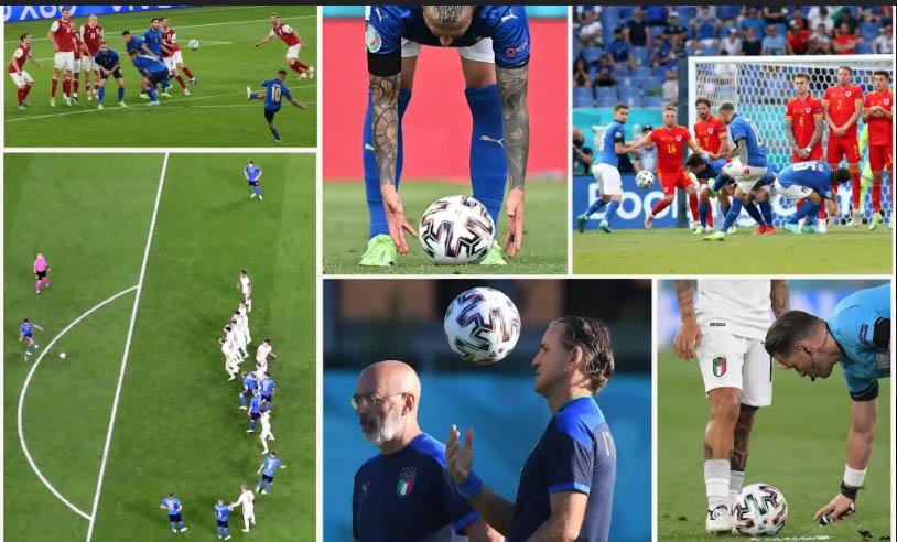 Italia rất nguy hiểm ở các tình huống cố định tại EURO 2020 nhờ HLV Vio