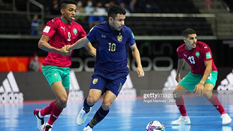 Futsal Thái Lan hòa kịch tính phút chót