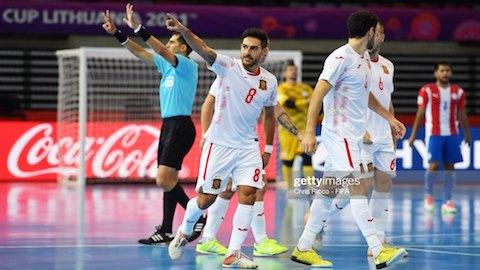 Bảng E và F FIFA Futsal World Cup 2021: Rồng châu Âu đấu hổ châu Á