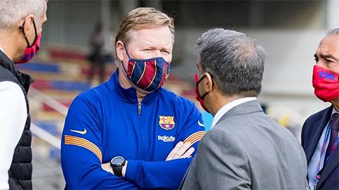 Barcelona phải bồi thường 12 triệu euro nếu sa thải Koeman