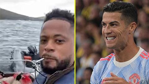 Ronaldo bị Evra tếu táo châm chọc vụ chuyển nhà