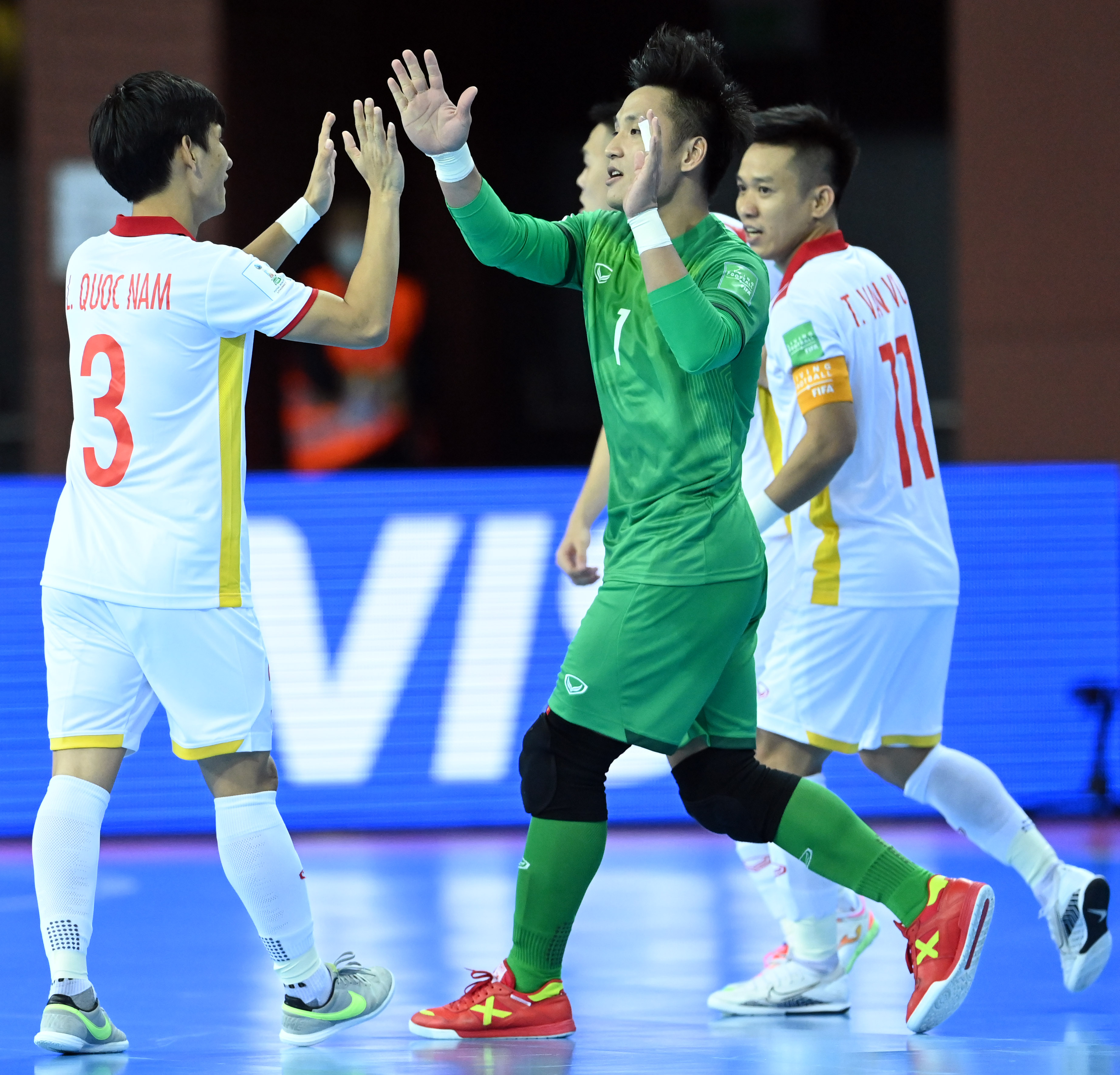 Hồ Văn Ý đang được đánh giá là thủ môn futsal hàng đầu châu Á thời điểm hiện tại - Ảnh: Quang Thắng