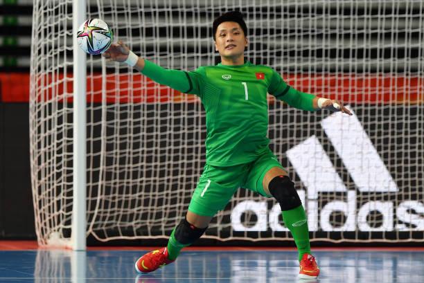 Hồ Văn Ý chơi đầy xuất sắc, góp công lớn mang về chiến thắng 3-2 của ĐT futsal Việt Nam trước Panama - Ảnh: Getty Images
