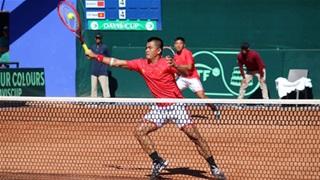 Đội tuyển Davis Cup Việt Nam đấu Malaysia tranh vé play-offs
