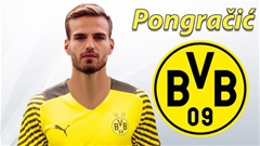 Pongracic chuẩn bị bay bổng với Dortmund