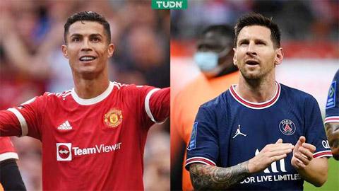 Thu nhập từ Instagram: Ronaldo số 1, Messi đứng thứ 5