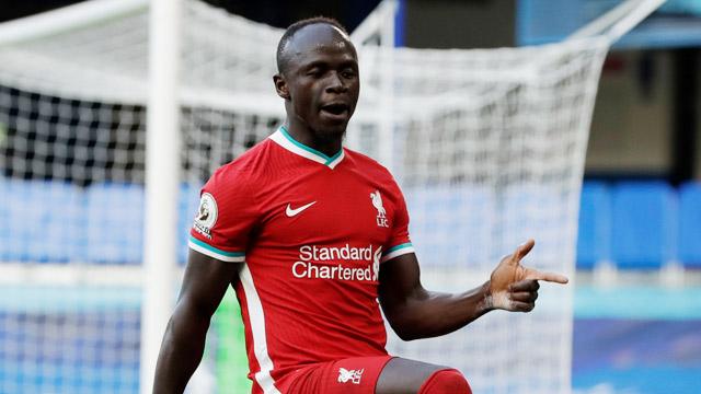 Sadio Mane tỏa sáng trước Crystal Palace với bàn thắng thứ 100 trong màu áo Liverpool