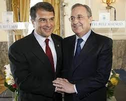 Hai chủ tịch Laporta (Barcelona) và Perez (Real Madrid) sẽ bắt tay chống lại BTC La Liga