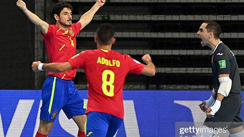 Bao nhiêu đội đã vào vòng knock-out VCK FIFA Futsal World Cup?