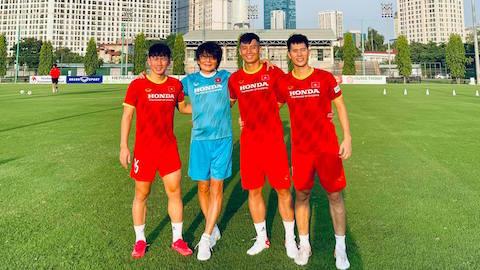 Đình Trọng, Thành Chung và Minh Vương vẫn chưa xác định ngày quay lại thi đấu