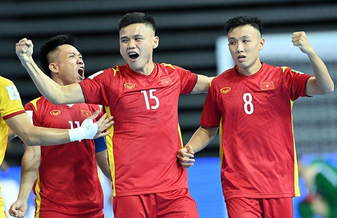 Đình Hùng và Minh Trí là niềm hy vọng của ĐT futsal Việt Nam. Ảnh: Quang Thắng