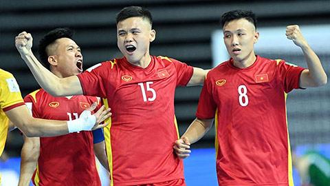 Kịch bản 5 bảng đấu khác để ĐT futsal Việt Nam đi tiếp ở World Cup 2021