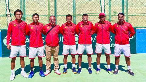 Đội tuyển Davis Cup Việt Nam thăng hạng đấu play-off nhóm II Thế giới năm 2022