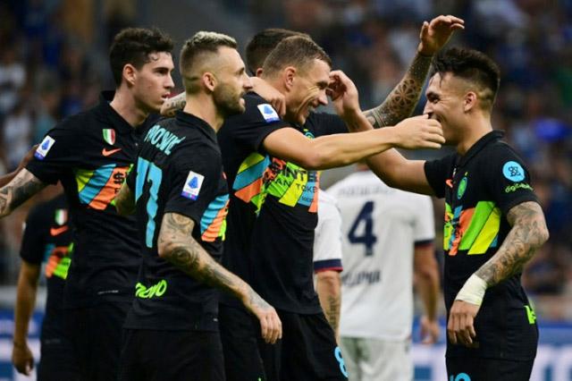 Inter vừa đại thắng 6-1 trước Bologna ở vòng 4 Serie A.